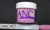ANC Dipping Powder 60ml #63 Magenta Glitter