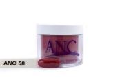 ANC Dipping Powder 60ml #58 Metallic Dark Red