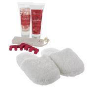 Winter Slipper Set and Pedicure Kit