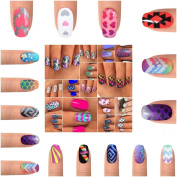 One of Everything Please Mega Pack nail stencil vinyl decals BONUS GIFT!!