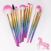 GLAMAZON By Docolor 10Pcs Makeup Brushes Fantasy Set Foundation Powder Eyeshadow Kits