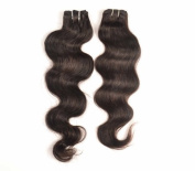 Premium Virgin 60cm Brazilian Body Wave Hair Extensions by PRISTINE HAIR