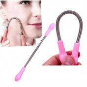 2pcs Women Facial Hair Remover Epilator Spring Face Threading Tool Facial Hair Removal Beauty Tools