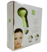 Global Beauty Care Power Brush Skin Cleansing System with 2 Heads - Green