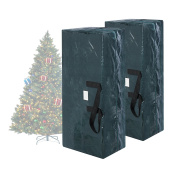 Elf Stor Set of Two Christmas Tree Bag Holiday Extra Large For up to 2.7m Tree
