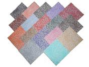 68 13cm Beautiful Creeper Quilt Fabric Squares