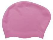 Eleoption Swimming Cap, Premium Silicone Swim Cap for Women for Long Hair