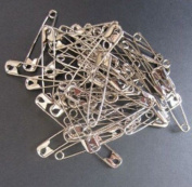 Sliver Safety Pins 100-Count Multiple Sizes