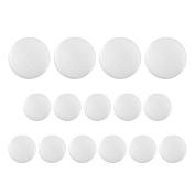 Swordfish 8053 - Tuxedo Suit Buttons 15 Piece Set