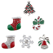 Lovmoment Christmas Decoration Gifts Style Snap Button Jewellery
