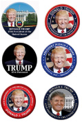 President Donald Trump Inauguration Button Set