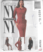 McCall's 6231 New York Collection Dress, Tunic and Pants Sewing Pattern Size 12