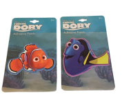 Disney Finding Dory and Nemo Adhesive Patch Set of 2 Sticker Patches Licenced