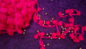 PomPom trim handcrafted scarf lace sari border curtain trim lace