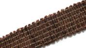 Decorative Brown colour trim braided lace sari border scarf
