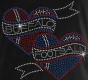 Buffalo Football #2 Rhinestone Iron on Transfer