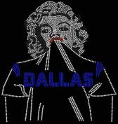 Dallas Football BEAUTY Rhinestone Iron on Transfer