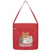 Twisted Envy My Family Has Paws Tote Bag