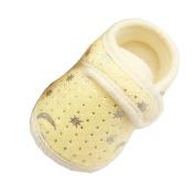 Fulltime(TM) Toddler Kids Girls Shoes Starry Sky Printed Toddler Anti-Slip Soft Sole Walking Baby Shoes