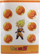 Sticker - Dragon Ball Z - SS Goku & Set Toys Anime Licenced ge55520