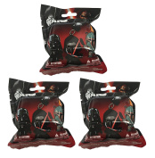 """Star Wars Figure Hangers Mystery Pack Set of 3 Packs """"Contains 3 Random Figures"""""""