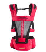 YOUJIA - Baby Carrier - Hip Seat Mesh Front and Back Carriers with Pocket for Newborn Infants