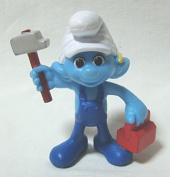 2013 US McDonald's Happy Meal toy movie ' The Smurfs 2 (THE SMURFS 2) ' ' Handy ' figure
