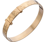 9ct Rolled Gold Teddy Bear Bangle