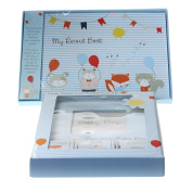Beautiful Baby Boy Record Book, Photo Frame and Trinkets Set