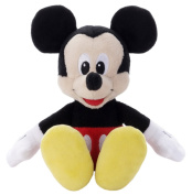 Disney Beans Collection 01 Micky Mouse Stuffed Toy Height 15cm