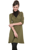 Sweet Mommy Twist Design Maternity and Nursing Dress with 2 nursing inners sw9068
