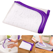 Protective Ironing Scorch Mesh Cloth ,Oenbopo Clothing Heat Insulation Ironing Pads Mesh Cloth Protective Guard Pressing Pad