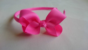 Alice Band With Bow Girls Ribbon Hair Band Headband