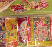 Wack-A-Pack Happy Birthday Self-Inflating Foil Balloons, 1 Package of 4 by Peachtree Playthings
