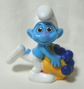 2011 US McDonald's Happy Meal toy movie ' Smurfs (THE SMURFS) ' ' greedy ' figure