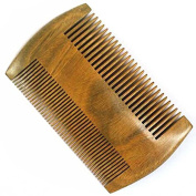 CINEEN wooden fishing comb Beard comb (12cm) | moustache wood comb | Handmade | antistatic | pocket comb | natural product