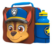 PAW PATROL Kids Children 3D Lunch Box Bag With Sport Water Bottle
