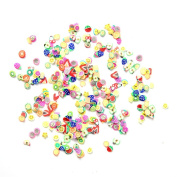 HimanJie DIY Nails Art Stickers Fimo Stickers Fitting Accessories Adornments