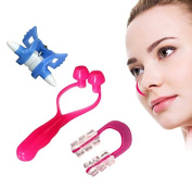 Vinmax 3PCS Nose Up Clip Bridge Lifting Shaping Shaper Clipper Straightening Beauty Set