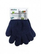 Airplus Aloe Kids Infused Gloves - Colour : Blue
