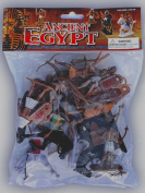 Plastic Toy Soldiers Ancient Egyptian Infantry Ancient Egypt Figures Painted Set 1/32 Scale 16 Pieces