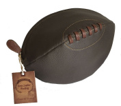 Real Leather Rugby Wash Bag Fully Lined