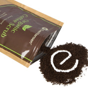 Organic ROBUSTA COFFEE SCRUB w/ Coconut Oil and Vit. E - The Best Exfoliating Natural Body Scrub w/ 2x the Caffeine - By Eve Hansen - Improves Circulation, Reduces Cellulite & Tightens Skin - 210ml