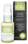 Via Nature - Bio Advanced Anti-Ageing Facial Serum - 30ml