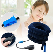 Vinmax Air Inflatable Cervical Neck Back Traction Neck Head Stretcher Pain Relief Collar Neck Massager