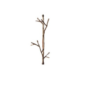 Ancient Graffiti AG-1022 Double Wire Twig Hook - Multi-Colour
