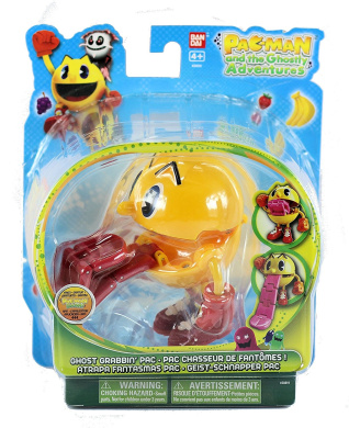 Pac-Man and the Ghostly Adventures 4 inch 12cm Action Figure - Ghost Grabbin Pac