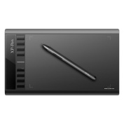XP-Pen Star03 Batteryless Drawing Graphics Tablet (UK Warranty) 25cm x 15cm with 8 Express Keys For Left & Right Hand Use (5080 LPI 230 RPS 2048 Levels) Windows & Mac - No battery or charging required Pen Tablet.