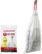 Morphy Richards Lemon Scented Bin Liners, 42/50 L - White, Pack of 10