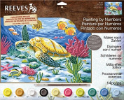 Reeves Large Acrylic Painting By Numbers - Sea Turtle